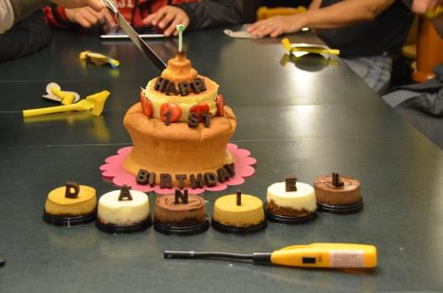 D's First Birthday Cake