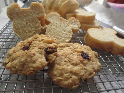 Oatmeal Pine Nut Cranberry Cookies